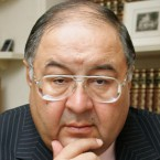 Russian billionaire Alisher Usmanov, owner of 30 per cent of Arsenal