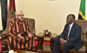 Mr. President Ma Magufuli Pombe meets HM. King Mohammed the VI